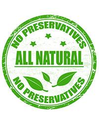 No Preservatives - All Natural