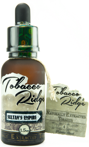 The Best Tobacco Vape Juice - Tobacco Ridge by Kind Juice